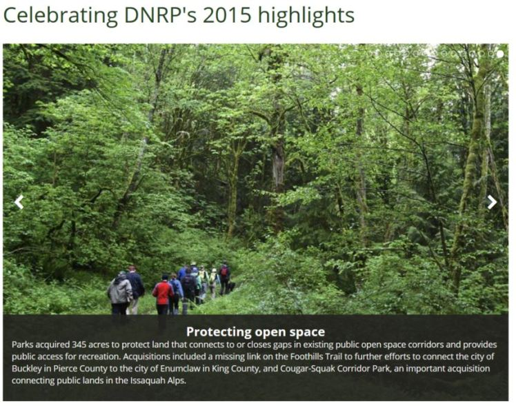 Celebrating DNRP's highlights