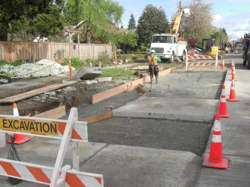 Roadside rain garden project earns local civil engineering honors