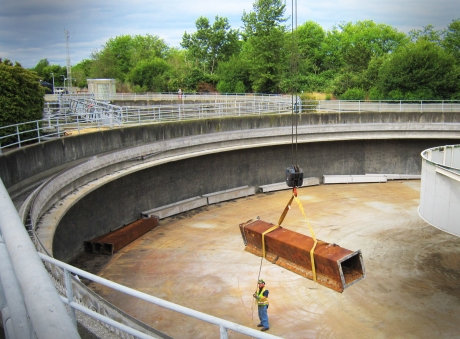 Sedimentation tanks