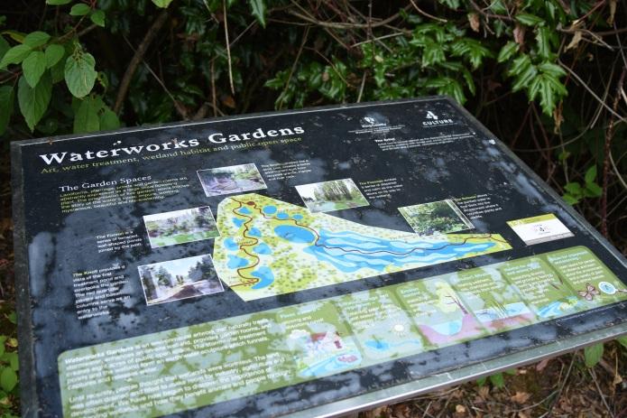 WaterWorks park sign