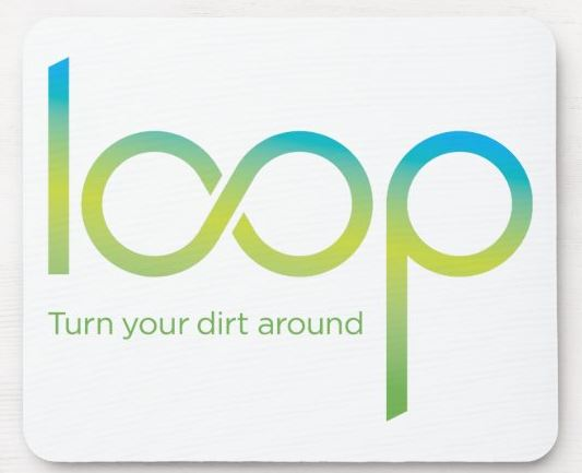 Loop biosolids mousepad