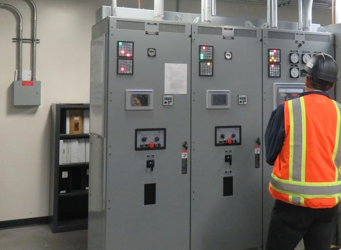 CoGen power controls