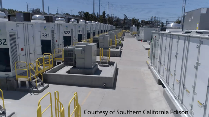 Southern California Edison's battery system