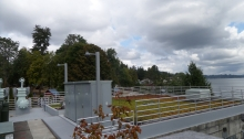 Green roof at Sunset Pump Station